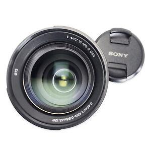 Sony E PZ 18–105 mm f/4 G OSS APS-C Zoom Lens - SELP18105G E Mount
