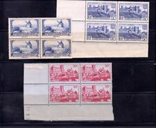 3 France Different Stamps x 4 mnh