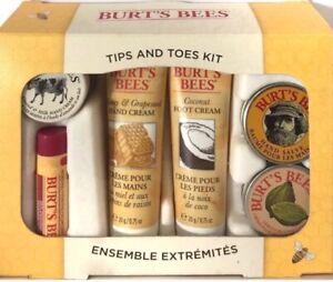 Burt's Bees 6 Piece Gift Set Travel Kit Brand NEW in Box