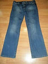 INC STRETCH DENIM BOOTCUT JEANS SIZE 14