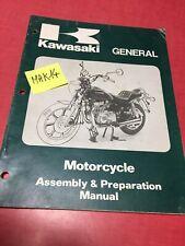 Kawasaki moto manuel assemblage et de preparation Z KZ GPZ AE