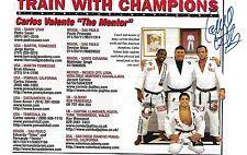 Carlos Valente Signed 5x7 Magazine Page Photo BAS Beckett COA UFC BJJ Jiu-Jitsu