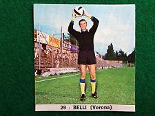 IL MONELLO CALCIO 73-74 n.29 VERONA BELLI , Figurina Calciatori NEW