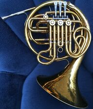 King Double French Horn - Model 2259 - Made In USA - Yellow Brass - Great Player