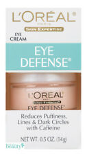 L'Oreal Eye Defense Cream: Reduces Puffiness, Lines & Dark Circles 0.5 oz.