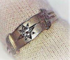 23c80ad925dc Anillos de joyería con diamantes brillantes de oro blanco diamante ...