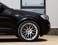 Impaktus Silber Alufelgen 10x22 Zoll 5x120 ET40 BMW X3 X4 X5 X6 F15 F16 X70 X71