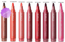 Kiko MILANO Long Lasting Colour Lip Marker 12ml Various Shades All in 103 Peach Red