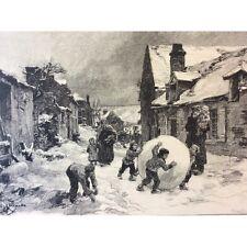 Léon Lhermitte clément Bellenger la neige Hiver snow winter