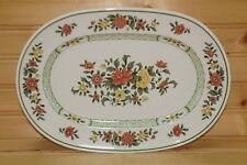 "Villeroy & Boch Summer Day  Oval Serving Platter, 11¾"" x 8¼"""
