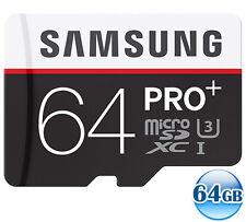 SAMSUNG CLASS10 microSDXC PRO PLUS 64GB 64G micro SD micro SDXC 4K Card 95MB/s*
