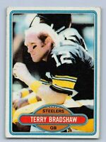 1980  TERRY BRADSHAW - Topps Football Card- # 200 - PITTSBURGH STEELERS
