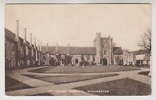 Hampshire postcard - St Cross Hospital, Winchester