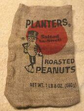 Planters Burlap Snack Bag