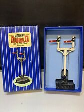 HORNBY DUBLO ED3 JUNCTION SIGNAL & BOX VINTAGE OO ELECTRICAL OPERATED WORKING