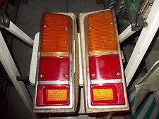 2 X LENTE FANALE POSTERIORE RENAULT 16 R16 TX TS 71-78 REAR LIGHTS LENS SEIMA