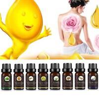 10mL Teebaum Aromatherapie ätherisches Öl Jasmin Zitrone SPA Essential Oil U9X7