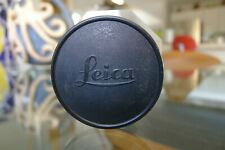 LEICA M BODY CAP COVER BRASS TYPE 1 FOR LEICA M3 M2 M4 MP BLACK PAINT VERY RARE