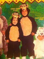 Cheeky Chimp Scimmia Scimpanzè Costume Età 1-2 Ragazzi Costume Per Bambini