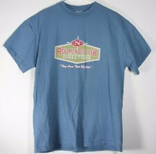 """Real Men Don't Ask Directions """"They Have Their Wife Ask"""" T-Shirt Large"""