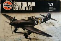 Airfix 1/72 Boulton Paul Defiant NF1 Type 6 blueprint box complete unmade sealed