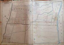 1898 Orig Staten Island New Dorp Midland Beach Ocean View E. Robinnson Atlas Map
