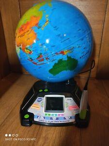 VTech - Genius XL – Globe Vidéo interactif avec écran vidéo électronique éducati
