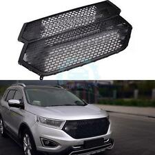 For Ford EDGE 2015-2016 Black ABS Plastic Front Grille Grill Vent 1PC