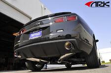 ARK DT-S Catback Exhaust w/Burnt Tip 2010-2012 Chevy Camaro SS LS LT