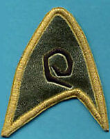 Classic TOS Star Trek Engineering Insignia Patch  -- THE CAGE