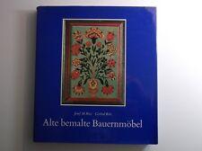 Buch - Alte bemalte Bauernmöbel - J. M. Ritz, G. Ritz - Orig. von 1975   /S105
