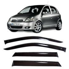 For Toyota Yaris/Vitz/Echo 5d 1998-2005 Window Visors Rain Guard Vent Deflectors