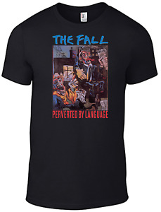The Fall T-shirt Mark E Smith Perverted by Language vinyl cd Band television B