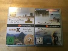 TERRA X - ZDF  [ 2 DVD ]  Schlacht der Kelten + Todescode Peru + Atlantis