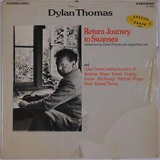 DYLAN THOMAS: Return Journey to Swansea POETRY Caedmon Spoken World LP