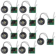 10Pc Diy Kit Electronic Doorbell Ne555 Electronic Transformer Sound Circuit Kits