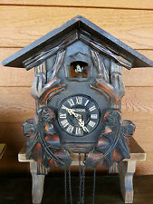 CUCKOO CLOCK FOR PARTS OR REPAIR NOT WORKING MI-KEN Clock Co Japan