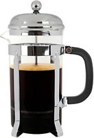 Glass Coffee/Tea French Press - Stainless Steel (631145894829)