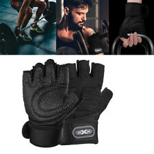 Fitness Weight Lifting Gloves Gym Sports Workout Training Wrist Wrap Men Women