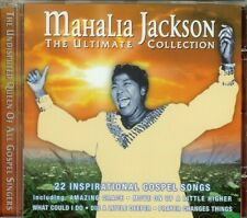MAHALIA JACKSON - ULTIMATE COLLECTION - CD - NEW - SEALED - 22 SONGS