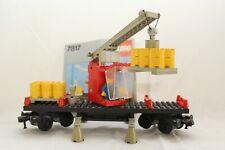 Lego 7817 Kranwaggon 12 Volt/ 4,5Volt mit Baunleitung/ 1