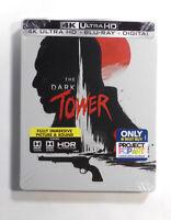 The Dark Tower 4K UHD Best Buy Ltd. Ed. Steelbook - New Factory Sealed