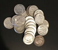 10 1964 Or Earlier 90% Silver Roosevelt Dimes 10c Coins from Mixed Lot $1 Face