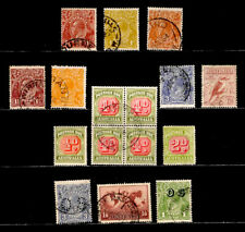 Australia: Classic Era Stamp Collection With Better