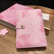 Rare Starbucks China 2017 Sakura Notebook Set With A Ballpoint Pen