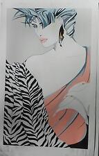 Steve Leal Marcia Like Nagel Women Hand Signed Fine Art Serigraph,