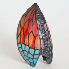 Stained Glass Wing Shaped Decorative Wall Sconce Light Shade