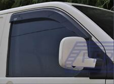 To Fit 14 - 17 Volkswagen Crafter Tinted Window Wind Rain Deflectors - Adhesive