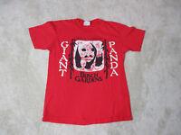 VINTAGE Busch Gardens Shirt Adult Medium Red Giant Panda Bear Theme Park 80s *