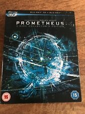 Prometheus 3D+2D  Region B BluRay, sealed (lb3) Aliens